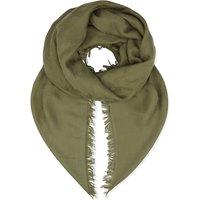 Cotton-blend scarf