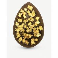 Milk chocolate popcorn Easter egg