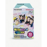 FUJI | Instax Mini 'Stained Glass' Film pack of ten | Goxip
