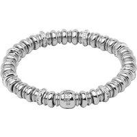 Links Of London Sweetheart sterling silver and white topaz bracelet, Women's, Size: S, Silver
