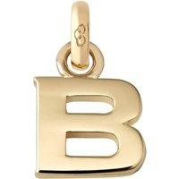 Links Of London B 18ct yellow gold charm, Women's, Gold