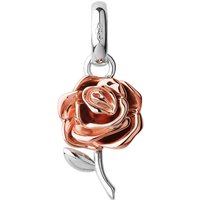 Mothers Day sterling silver and 18ct rose gold-vermeil charm