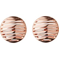 Thames 18ct rose gold vermeil earrings