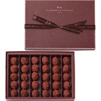La Maison Du Chocolat 30-piece dark chocolate truffle selection