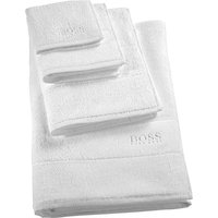Hugo Boss Plain egyptian cotton towel, Size: Guest Towel, Ice