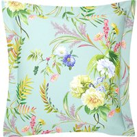 Bouquets square cotton pillow case