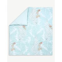 Sources printed cotton king duvet cover