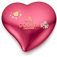 Valentine's Day heart keepsake chocolate tin 12pcs