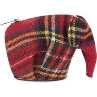 Tartan Elephant coin purse
