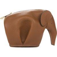Elephant leather coin purse