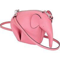 Loewe Elephant minibag leather shoulder bag, Women's, Candy