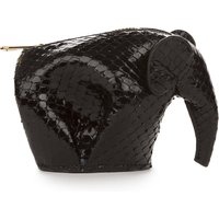 Elephant python-leather coin purse