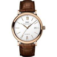IWC SCHAFFHAUSEN | IW356504 Portofino Automatic rose gold watch | Goxip