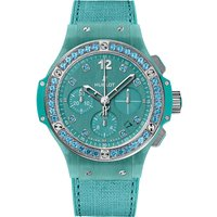 Hublot 341.XL.2770.NR.1237 Big bang turquoise linen watch, Women's