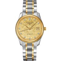 L2.518.5.38.7 Master stainless steel and 18ct gold automatic watch