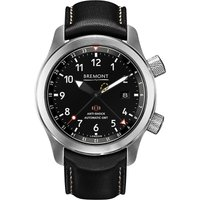 CORUM | MB111 OR Martin Baker stainless steel and leather watch | Goxip