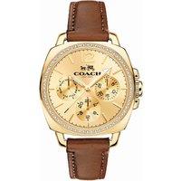 Coach 14502172 boyfriend leather watch, Women's