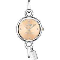 Coach 14502688 Hangtag stainless steel bangle watch, Women's