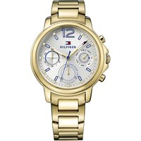 Tommy Hilfiger 1781742 Claudia PVD gold-plated watch, Women's