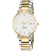 Kate Spade 1YRU0108 Gramercy two-tone watch, Women's