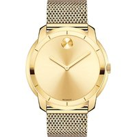 3600373 gold-tone stainless steel watch