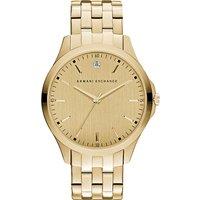 Armani Exchange Diamond marker bracelet watch, Mens