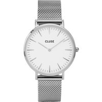 CLUSE | Cluse CL18105 La Bohème stainless steel mesh watch | Goxip