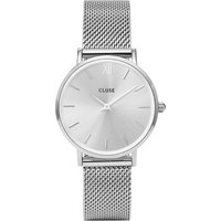 CLUSE | Cluse CL30023 Minuit stainless steel mesh watch | Goxip