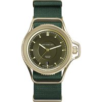 Givenchy GY100181s03 Seventeen yellow gold-plated and leather watch, Women's, yellow