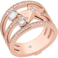 Celestial rose gold-toned ring