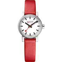 MSE-26110-LC evo2 Petite leather and stainless steel watch