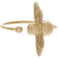 Olivia Burton Moulded bee gold ring, Women's, gold