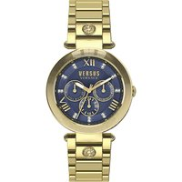 SCA040016 V-Camden IP gold chronograph watch