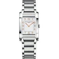BAUME & MERCIER   Baume & Mercier M0A10049 Hampton stainless steel watch, Mens, Silver   Goxip