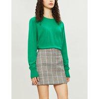 Cesena 'S' embroidered cashmere jumper