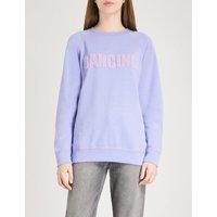Dancing cotton-blend sweatshirt