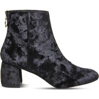 Arch enemy velvet ankle boots