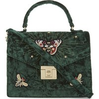 Durosty velvet shoulder bag