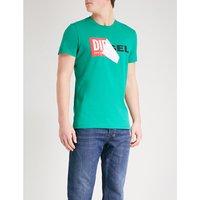 T-Diego-Qa cotton-jersey T-shirt