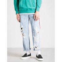 Dagh regular-fit straight-leg jeans
