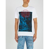 T-Just-XQ graphic-print cotton-jersey T-shirt