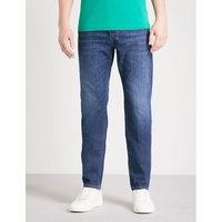 Larkee-Beex regular-fit tapered jeans