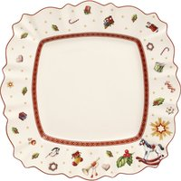 Toy's delight Christmas porcelain plate