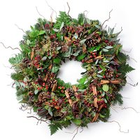 Mulled Winter outdoor wreath