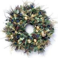 Starry Night outdoor wreath