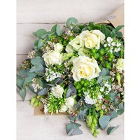 Philippa Craddock White and Green bouquet, Size: S