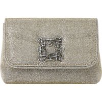Beston suede embellished handbag