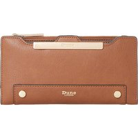 Kessica leather-look purse