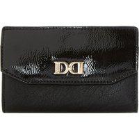 Kennie patent-flap purse