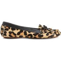 Genovia leopard-print loafers